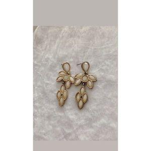 Gold Shimmery Earrings